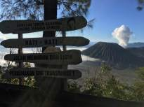from Pananjakan to Bromo