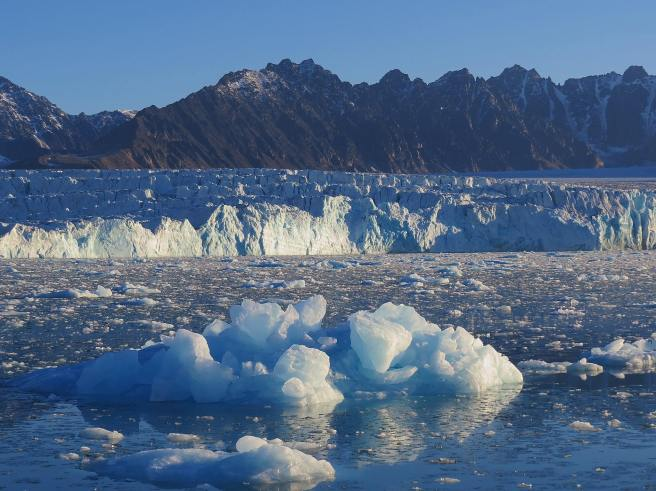 Day 1 - watching icebergs fell down