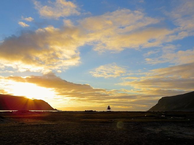 Day 5 - sunset in ex dutch whaling station