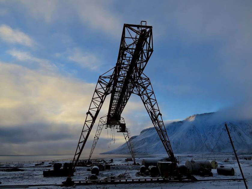 Day 8 - ghost town of Pyramiden