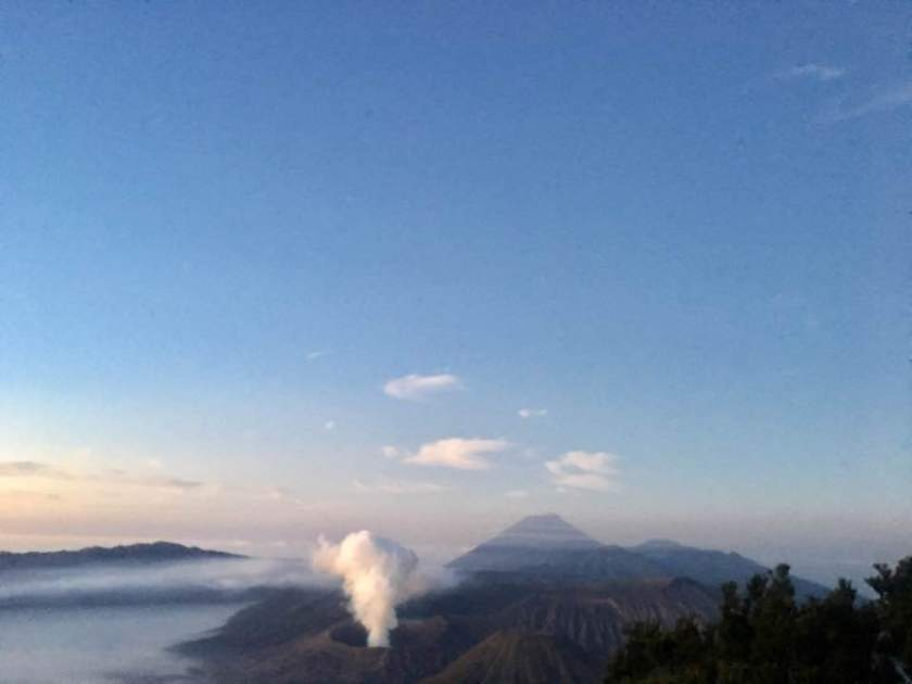 Sunrise - bromo view, July 2017