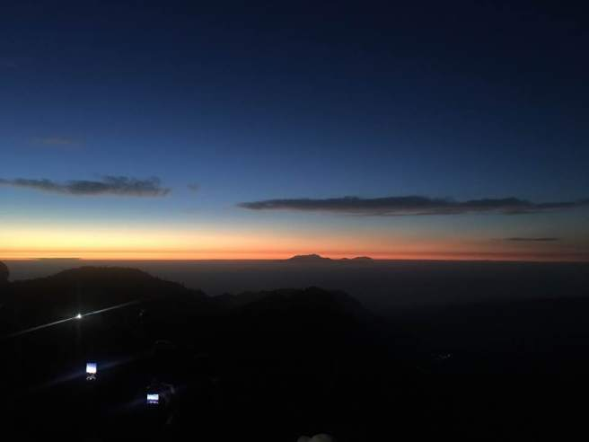 Sunrise in Pananjakan, July 2017