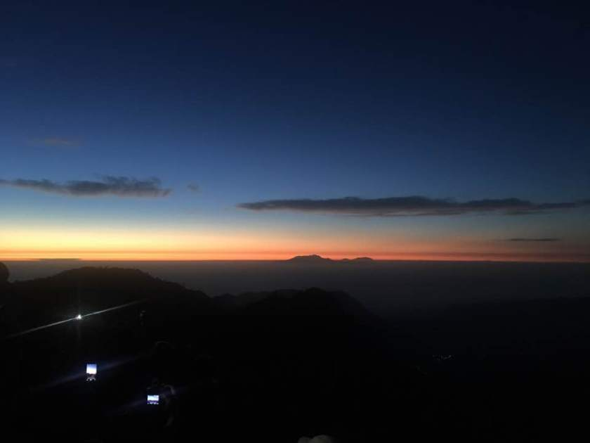 Sunrise in Pananjakan, July 2017